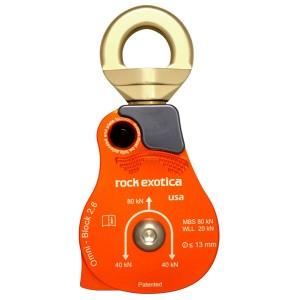 """Rock Exotica single oranje 2.6"""""""